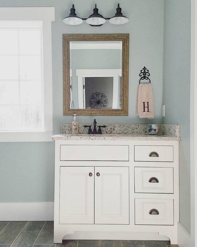 sherwin williams silvermist sw7621 with extra white trim by sherwin rh pinterest com