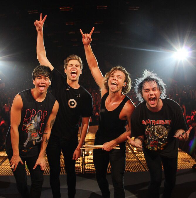 Happy 4th bandbirthday 5sos! Two long years together it's been for us. You guys help me through so much, and still are. Your music is amazing beyond words. I'm proud to say, you guys made it. Keep it up! - @Betsy Strayer