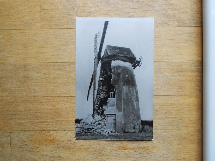 Photo card of Holmer Green Windmill, Bucks - repro of very old pic | eBay