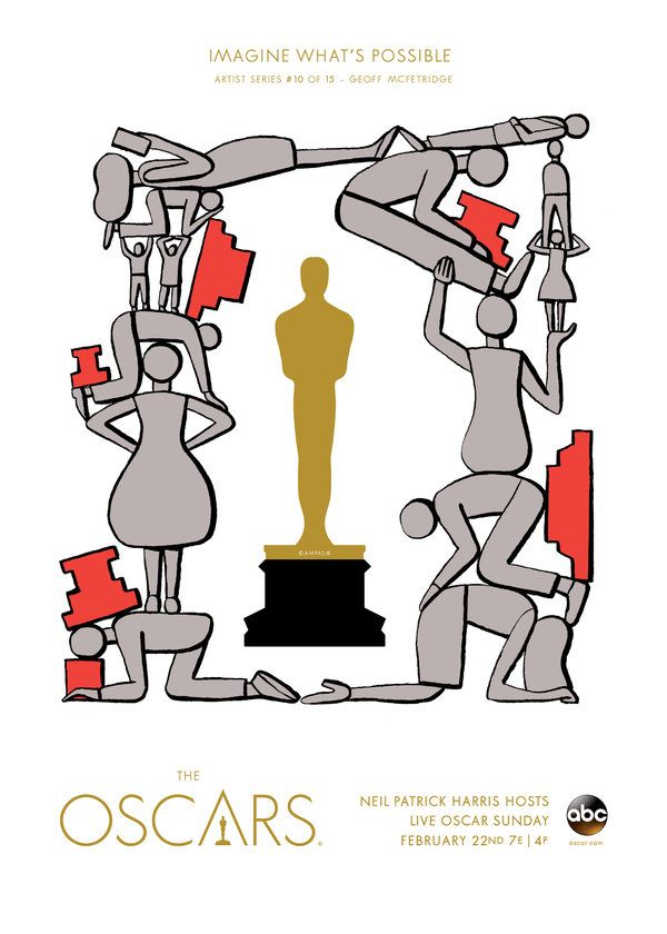"Oscars 2015 ""Imagine What's Possible"" Artist Series: Geoff McFetridge"