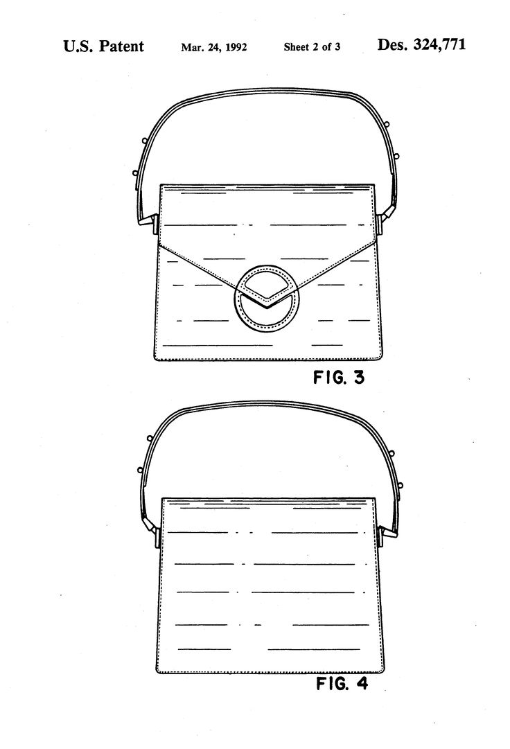 Patent Drawing Louis Vuitton