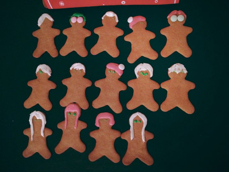 Big Bang, SHINee and 2NE1 cookies made by me and my friend ^^
