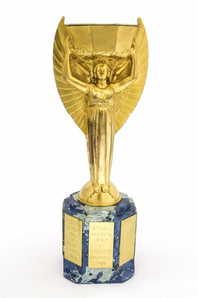 Jules Rimet World Cup Trophy, 1966 - NFM