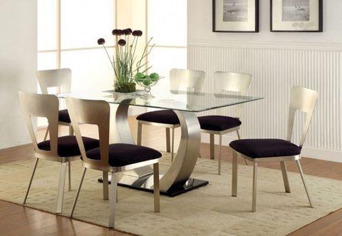 the nova dining room set in 2019 glass top dining dining dining rh pinterest com
