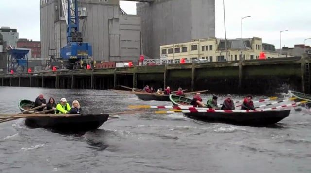 From the sheltered waters of Cork harbour to the open ocean off the Dingle Peninsula, Naomhóga Chorcaí presents a documentary of currach rowing techniques. Features hightlights from the Maherees regatta and the Red Bull currach races. This documentary was supported by the Cork City Council Heritage fund.