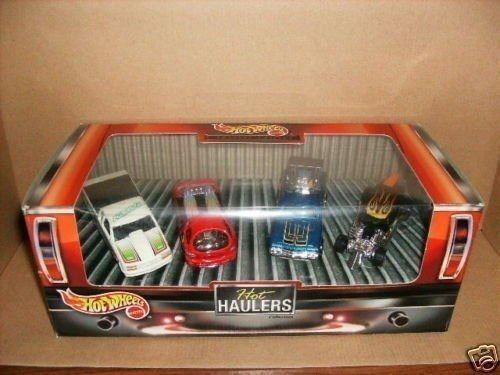 RARE 1999 HOTWHEELS HOT HAULERS 4 CAR GIFT SET SPECIAL EDITION SEALED IN BOX.  #HotWheels #Custom