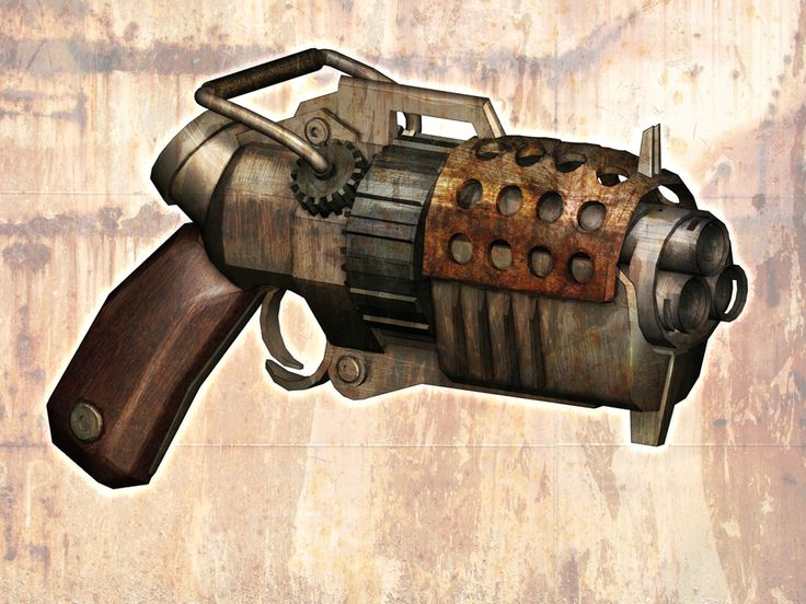 Inspirational Digitised Steampunk Weapons – mrforgetful21