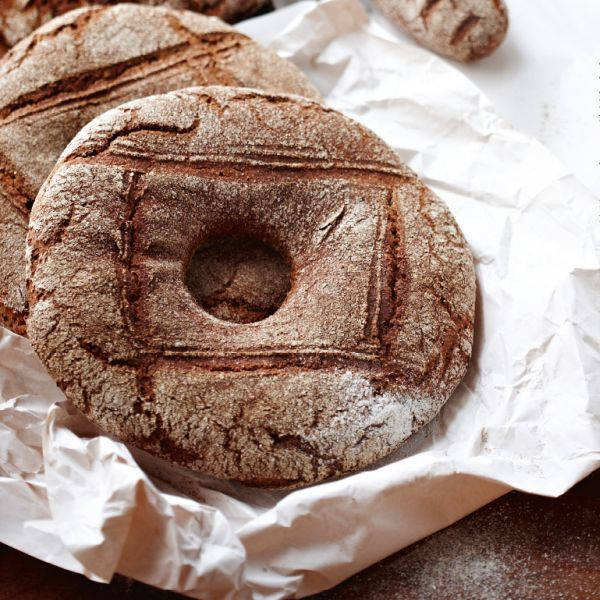 Tasty rye bread has notable health benefits compared to white bread.