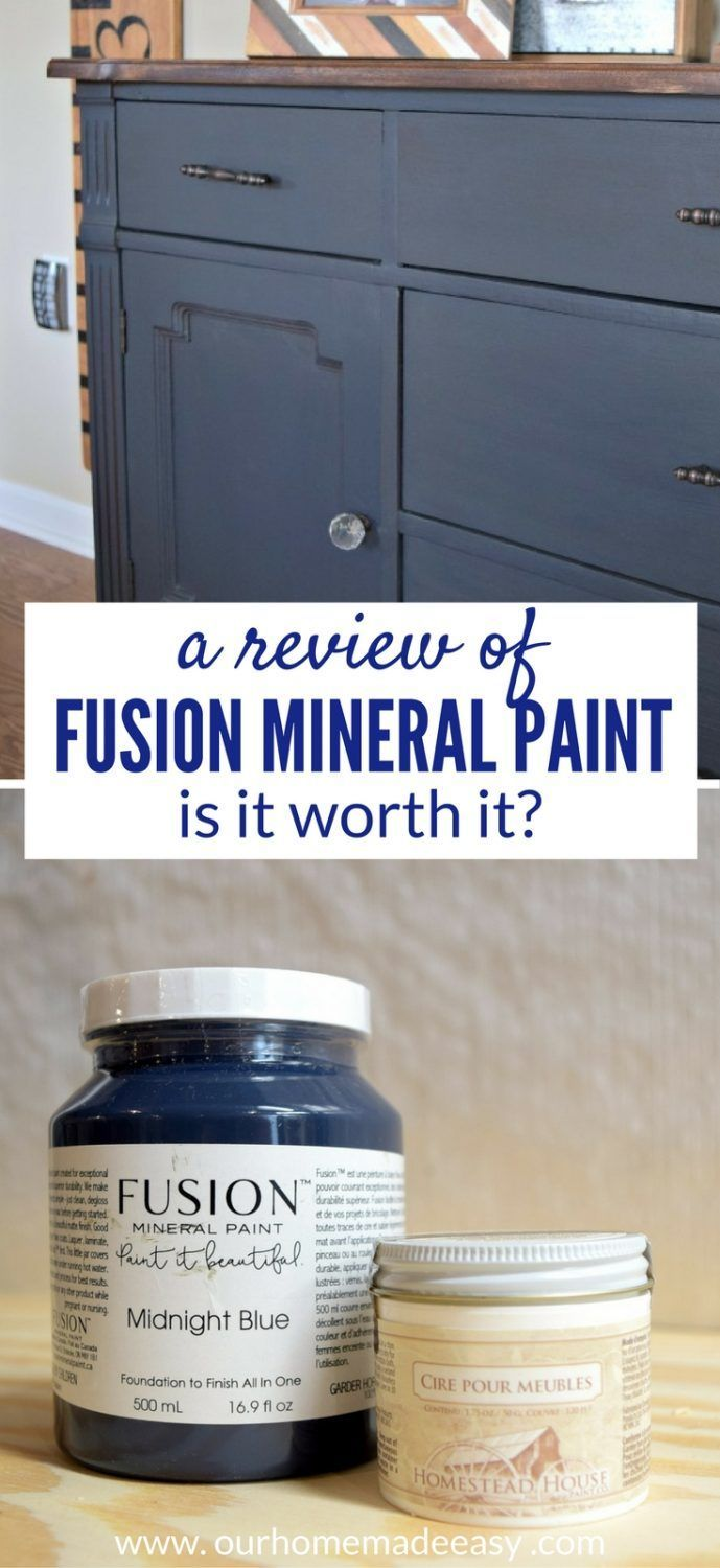 A Busy Moms review of Fusion Mineral Paint. Click to see if this paint is good for beginners!