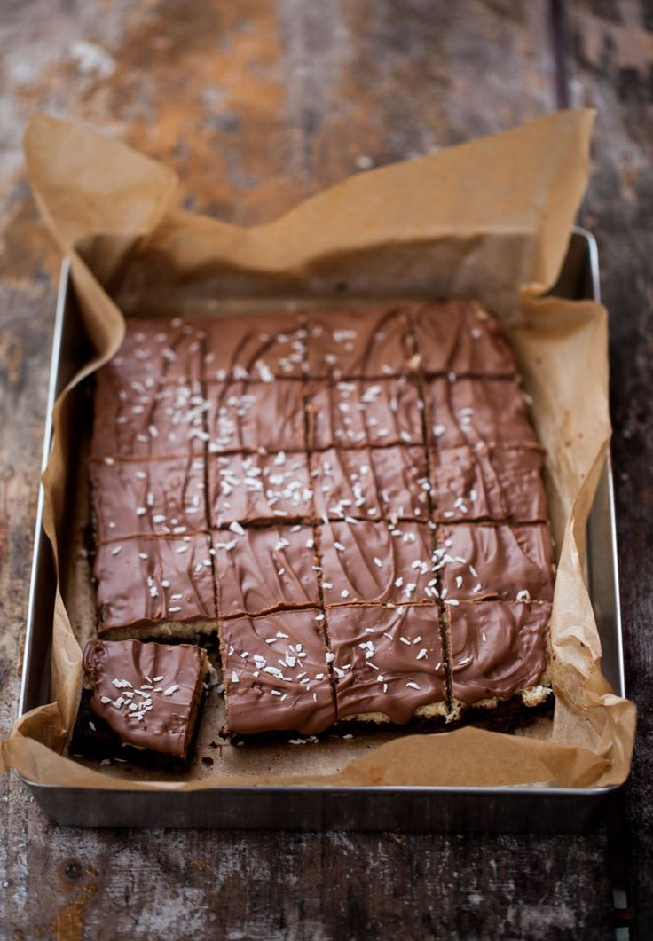Bounty-Brownies – Linnéas Skafferi