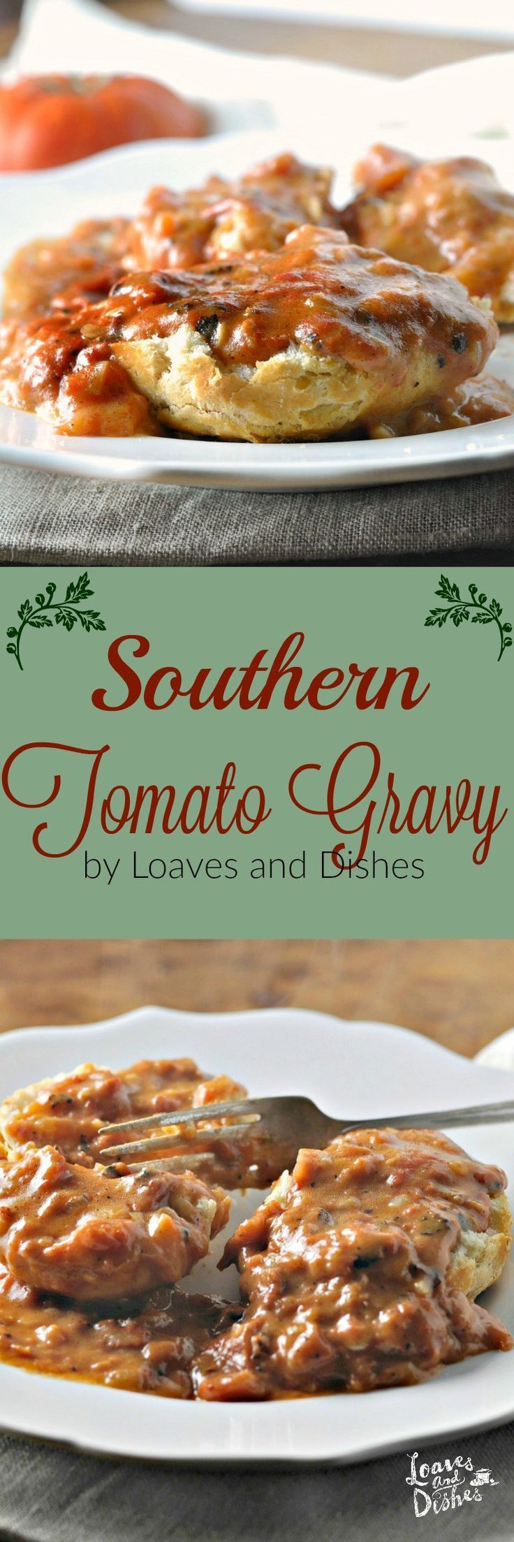 Need a terrific Tomato Gravy Recipe? Of course you do!! Right here it is! Easy, using ingredients you probably have in your kitchen