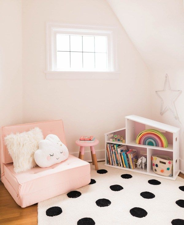 The Girls Playspace And Reading Nook Reveal Reading Nook
