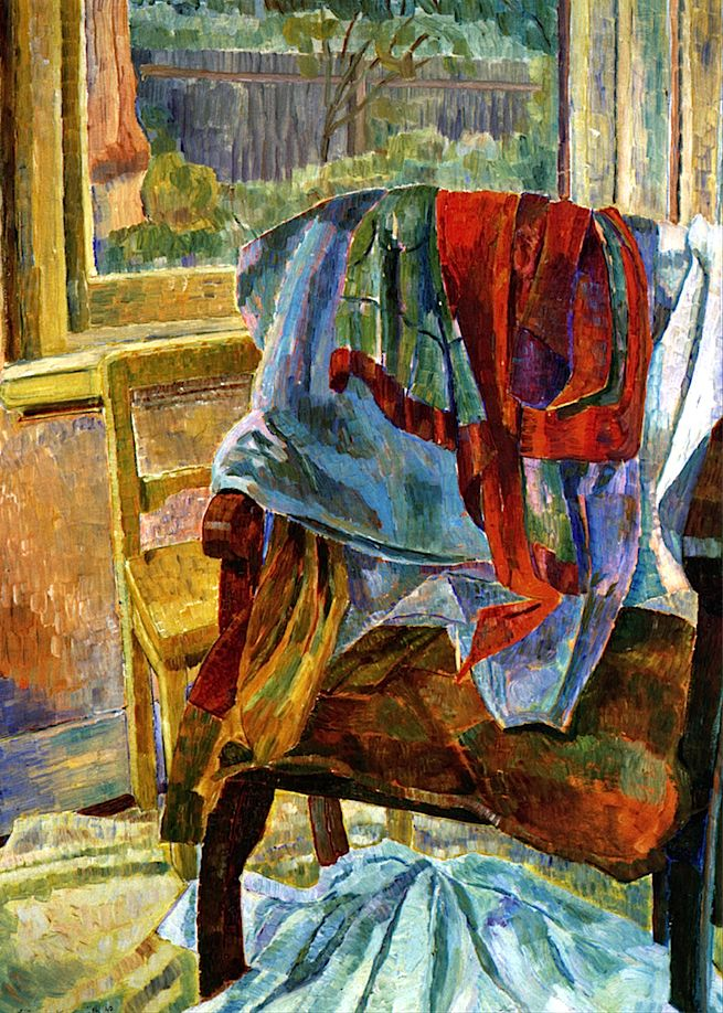 bofransson: Grace Cossington Smith, Drapery, chair and window, 1942