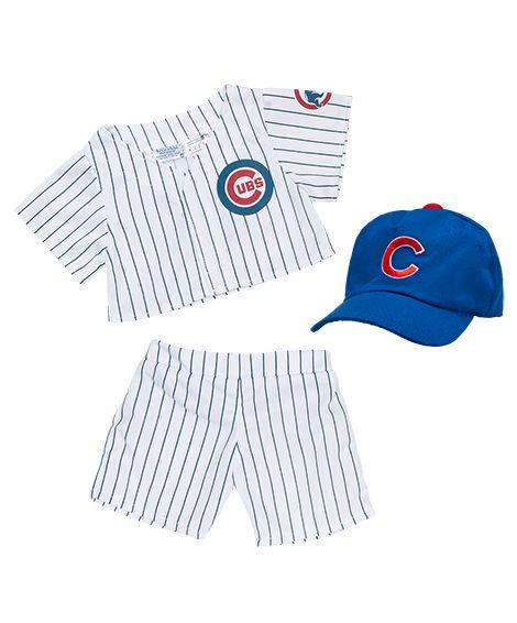 Build A Bear Chicago Cubs Uniform