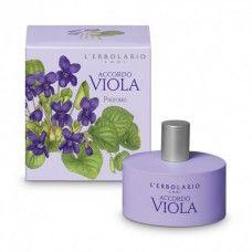 Accordo Viola illatú Eau de Parfum ibolya illatú - Rendeld meg online! Parfüm és kozmetikum család az olasz Lerbolario naturkozmetikumoktól