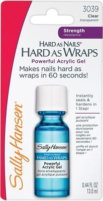 Sally Hansen Hard As Nails Hard As Wraps Powerful Acrylic Gel - Best Nail Strengthening Products