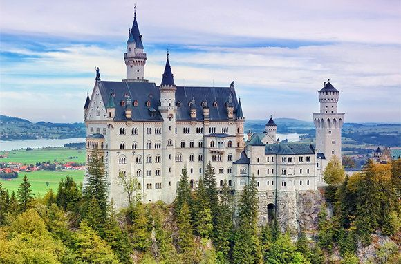 Neuschwanstein Castle in Germany: Favorite Places, Beautiful Places, Neuschwanstein Castles, Castles In Germany, Early Bird, Photo, Travel Destinations, 10 Affordable, Fairies Tales