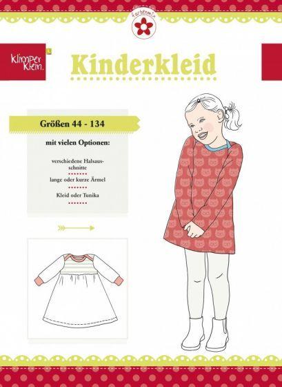 Mönster på klänning eller tunika till småbarn