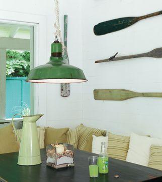 Comme sur l'île de Nantucket   Les idées de ma maison © TVA Publications   Brigitte Thériault #deco #salleamanger #table