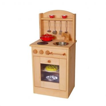 U201eDäumelinchenu201c Kinderspielküche Mit Herd Die Holzküche Für Kinder 2014
