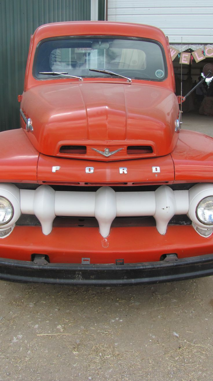 1955 chevrolet hot rod truck pictures to pin on pinterest - An Awesome 1950s F 100 Ford Truck