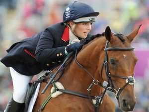 Zara Tindall misses out on Olympic eventing place for Rio 2016. - - - Zara Phillips of Great Britain riding High Kingdom in action in the Show Jumping Eventing Equestrian on Day 4 of the London 2012 Olympic Games at Greenwich Park on July 31, 2014