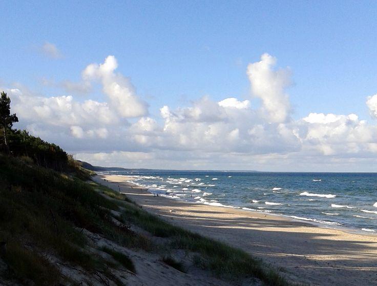 Baltic seaside in September