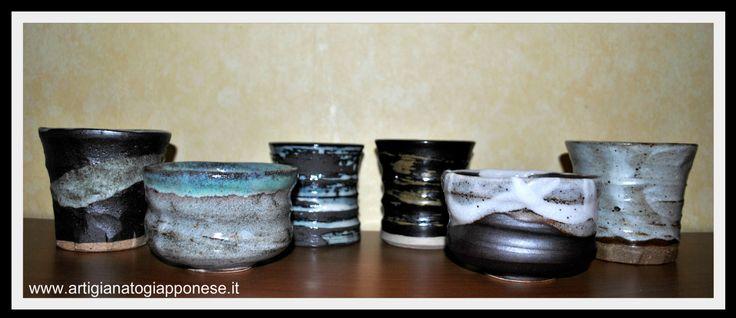 Tazze da tè disponibili su www.artigianatogiapponese.it