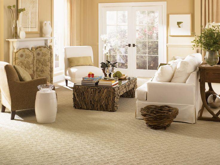 Berber Carpet In The Living Room