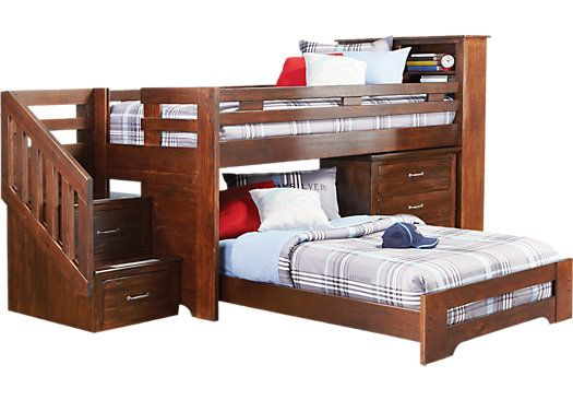 Don't know if lower bed would fit beneath like a trundle bed