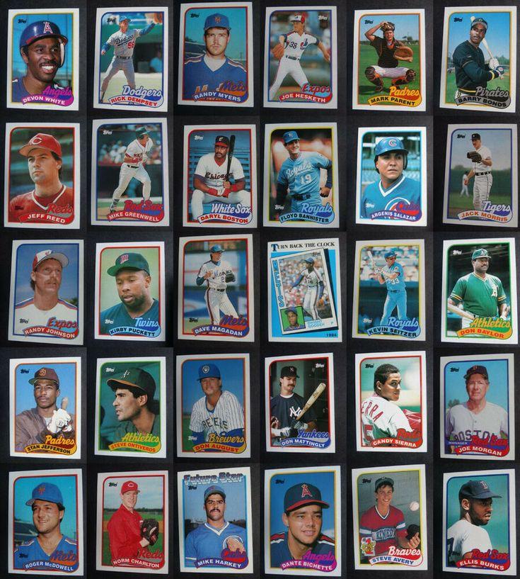 1990 topps baseball cards checklist