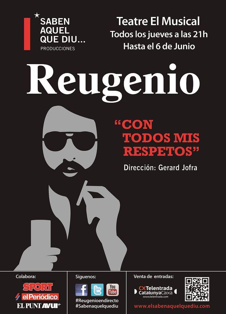 Hoy es la #última #función de #Reugenio en #Valencia ¡A las 21.00H en el  Teatre El Musical Cabanyal!