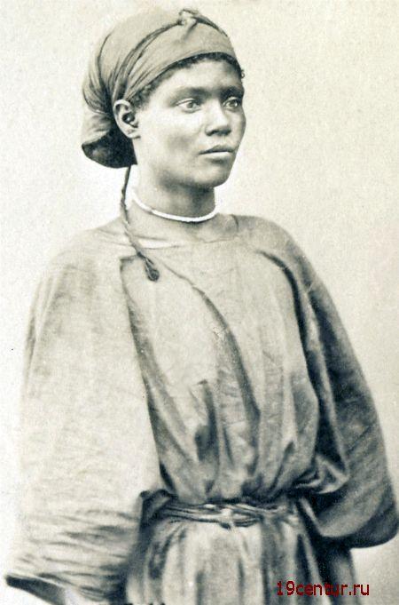 Сомалийская жнщина. Аден. 19 век.