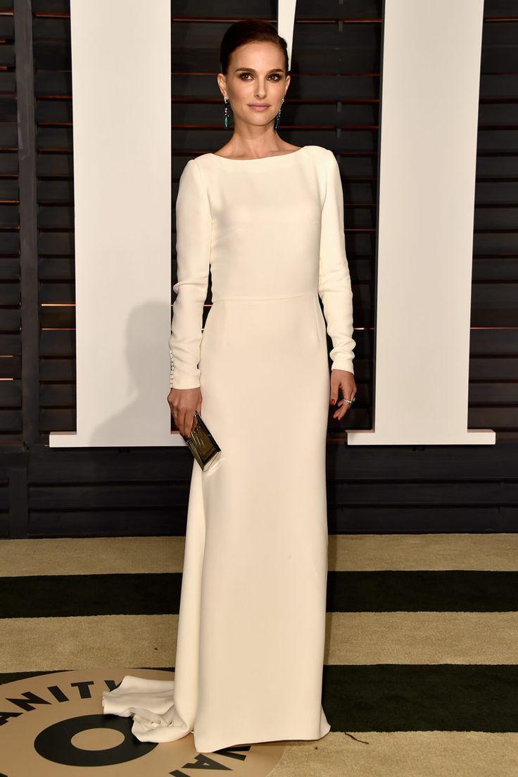 Natalie Portman de Dior #oscarsafterparty15