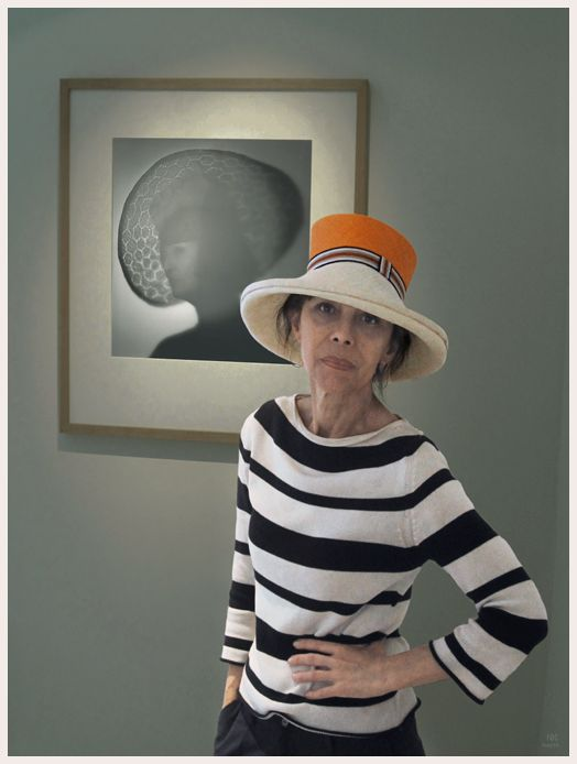 La sombra engalanada, exposición de fotografías de Alberto García-Alix y los diseños de sombreros Polita de Susana Loureda. Foto ©roc