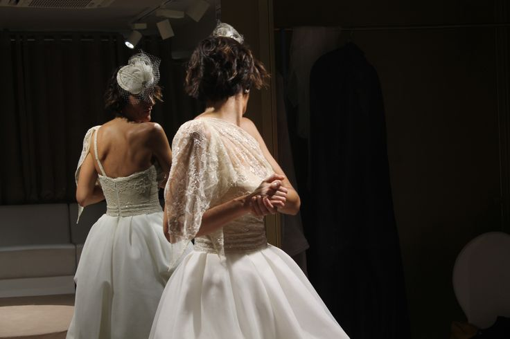 Pruebas de novia en L'ATELIER TUDELA. Vestimos emociones.