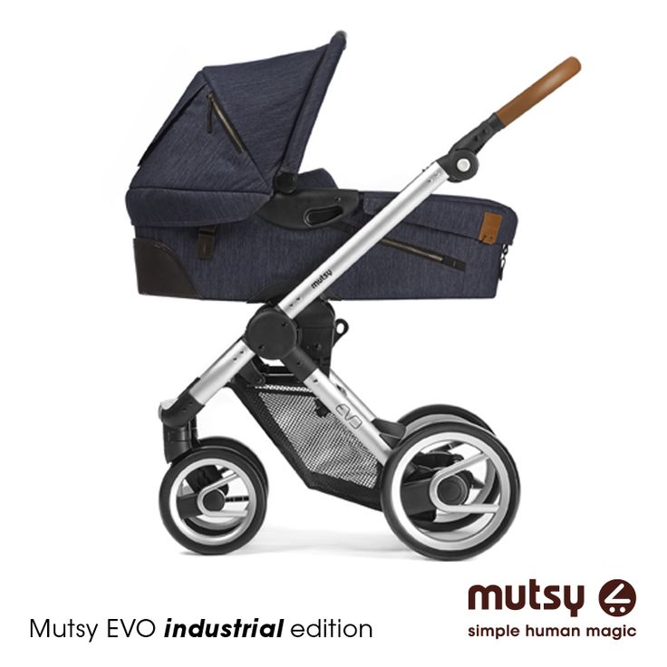Mutsy evo i industrial indigo industrial edition for Ariete evo 2 in 1