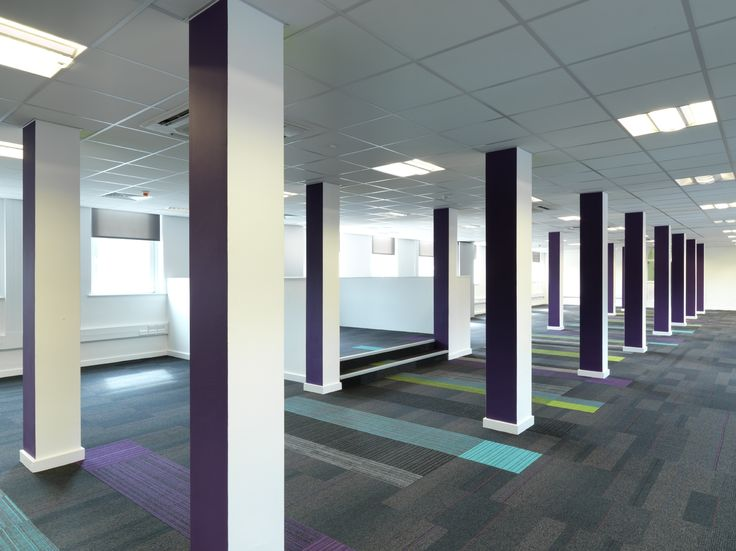 West yorkshire police station burmatex carpettiles for Office design west yorkshire