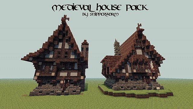 Medieval House Pack Minecraft Project Minecraft Pinterest Home Minecra