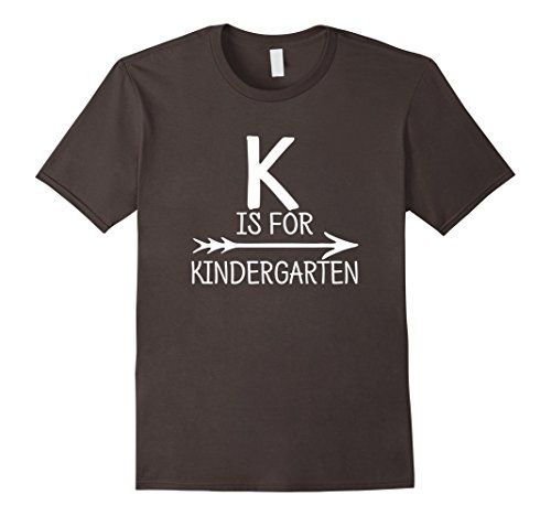 $16.99 YOUTH WOMENS UNISEX Men's K is For Kindergarten Tshirt Teacher Student First ... https://www.amazon.com/dp/B01IZ7FIDI/ref=cm_sw_r_pi_dp_ZNeLxb2Q129S3