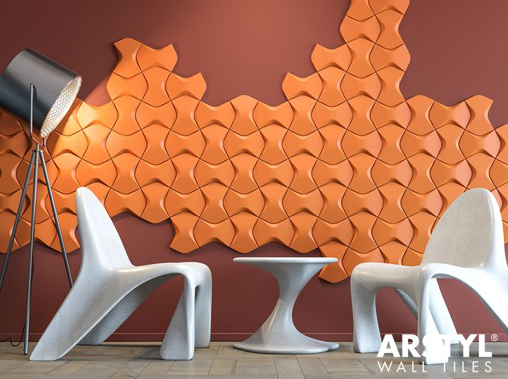 ARSTYL® Wall Tiles WING designed by @mac2578 / Photo: Massive Design