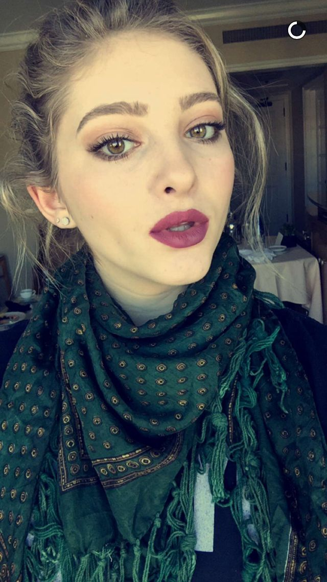 Willow Shields Snapchat