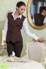 Gilet Donna divisa Cameriera Sala Bar Ristorante - Abiti da Lavoro