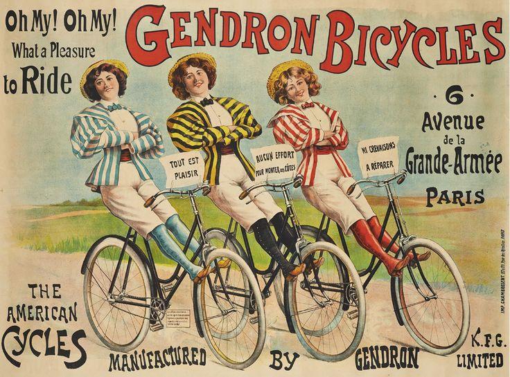 Vintage Bicycle Advertising