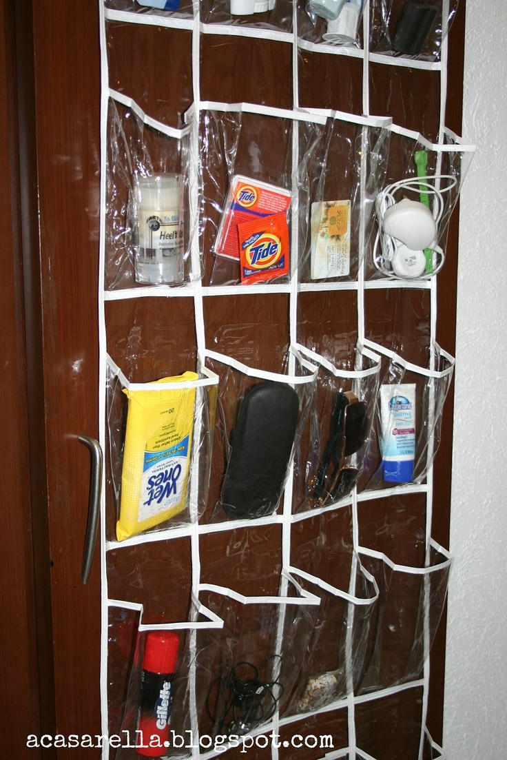 Over The Door 3 Tier Bathroom Towel Bar Rack Chrome W: While Traveling, Use An Over-the-door Shoe Holder As A Way