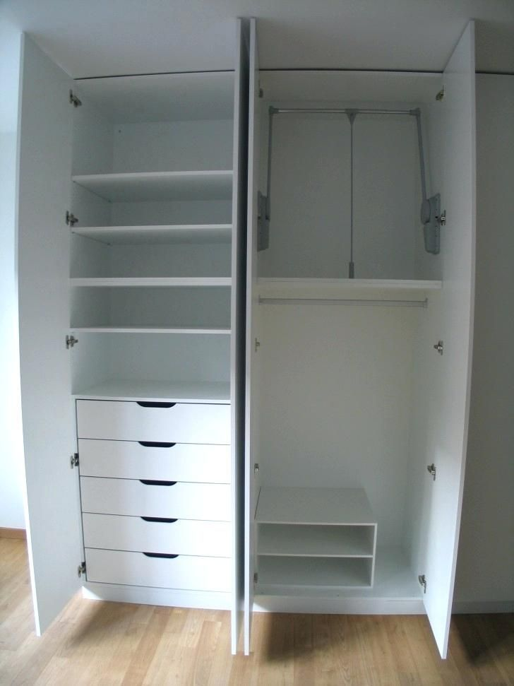 Wardrobes White Wardrobe With Shelves Furniture Wonderful Wardrobe With Drawers Inside Give More Space For You High Double White White Trip White Wooden Wardrobe Wardrobe Drawers Wooden Wardrobe