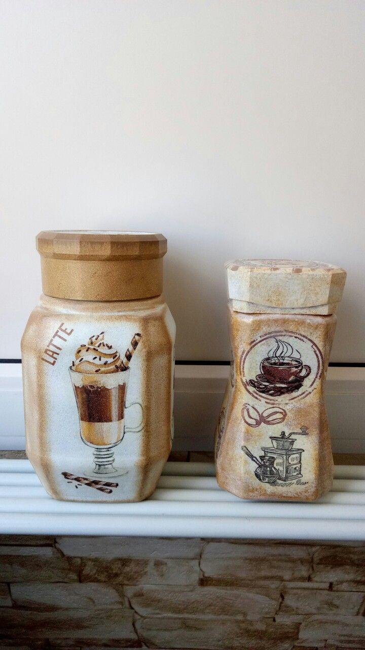 очаровательные милашки из банки кофе