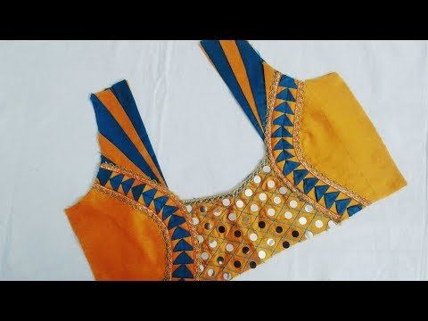 d67e1b19e79 new model blouse designs (DIY)   latest blouse designs cutting and  stitching 2017 - 2018 - YouTube