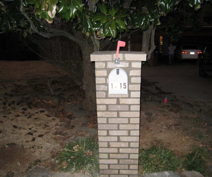 1000 ideas about brick mailbox on pinterest stone for How to build a stone house yourself