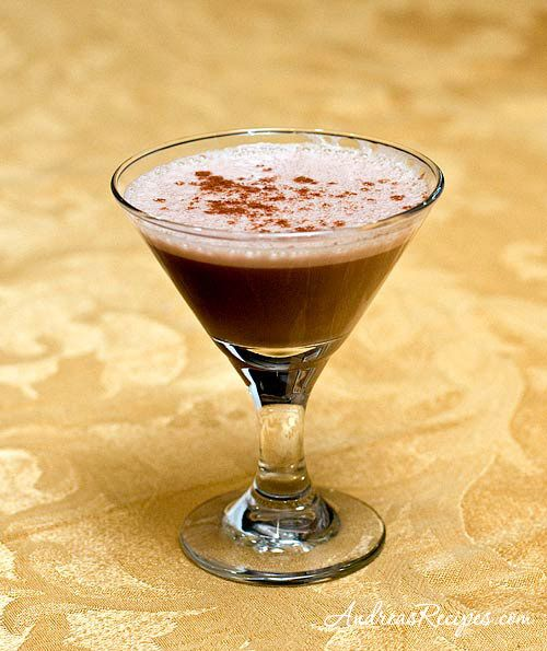 The Vaina is a luxurious chocolate cocktail from Chile made with ruby port, cognac, crème de cacao, egg yolk, and a touch of cinnamon. This one is so good it almost qualifies as dessert.